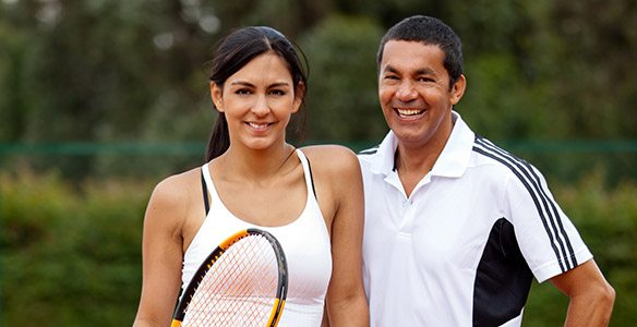 Couple Tennis Serge Maria 584