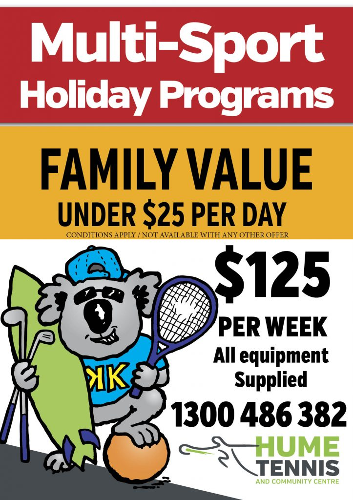 Multi Sport Holiday Program