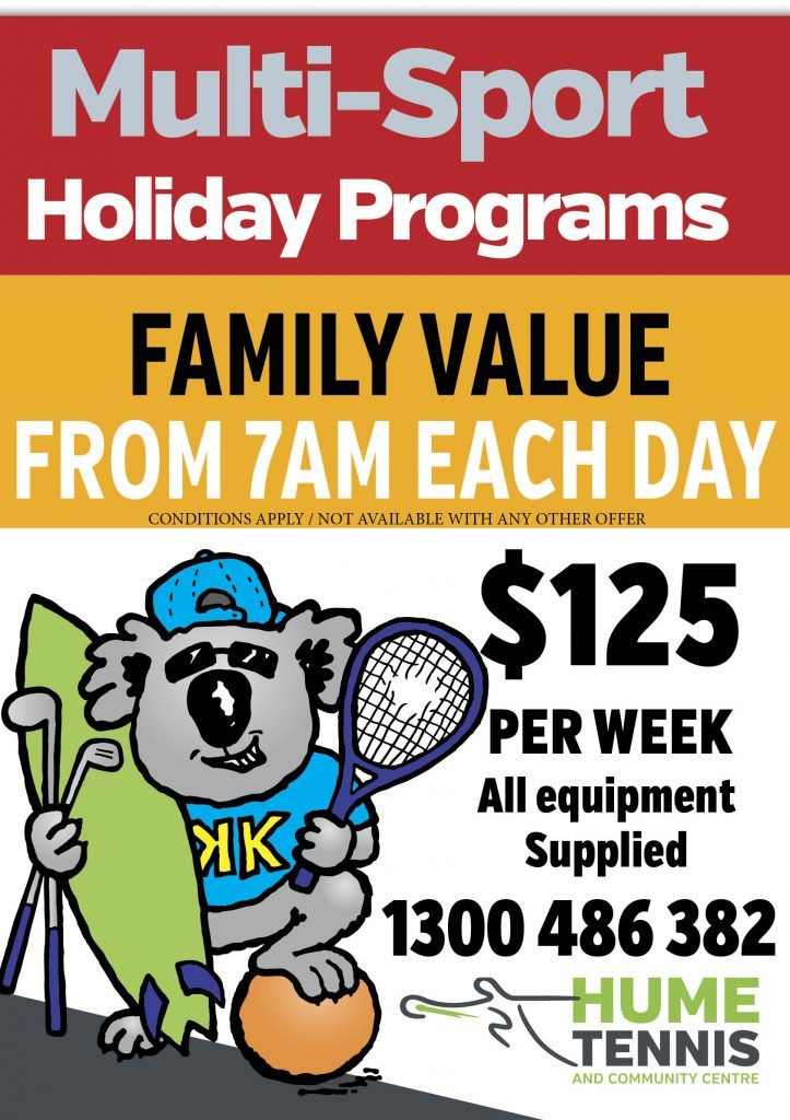 Multi Sport Holiday Program