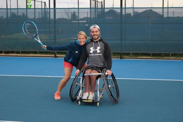 Run'Roll Fast 4 Tennis are a popular part of the Wheelchair Tennis Program